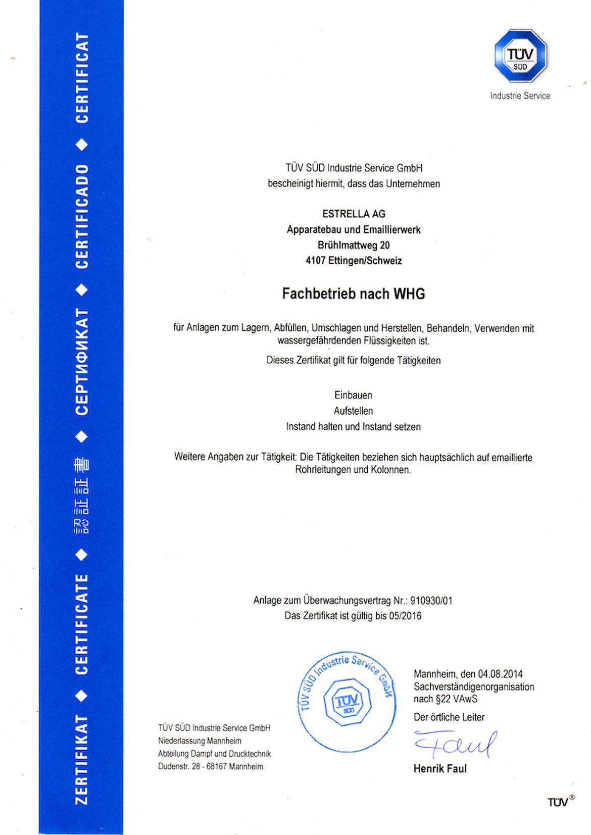 Documents - Estrella AG